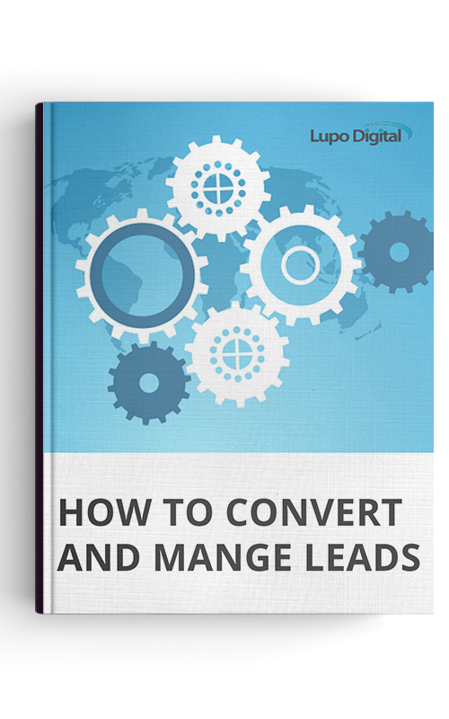 lead nurturing guide cover