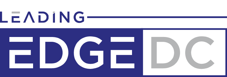leading edge dc logo